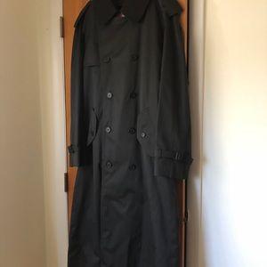 Men's Macintosh long Men's belted Trench Coat